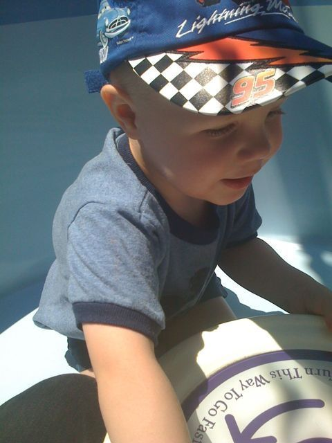 James on the teacups